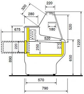 Comptoir reserve hill plan