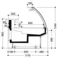 Plan france gel vitrine traditionnelle